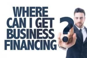 start up business financing